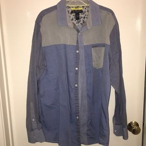 Men's Denim Dress Shirt